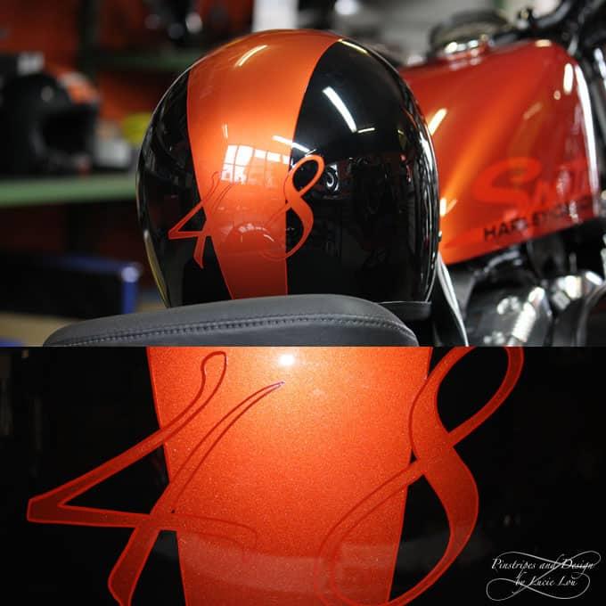 Pinstripe 48 Helm