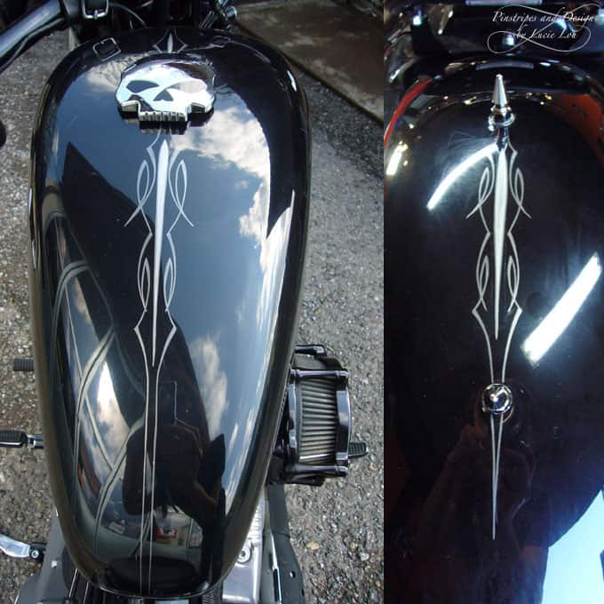 Classic Pinstripes Harley Nightster
