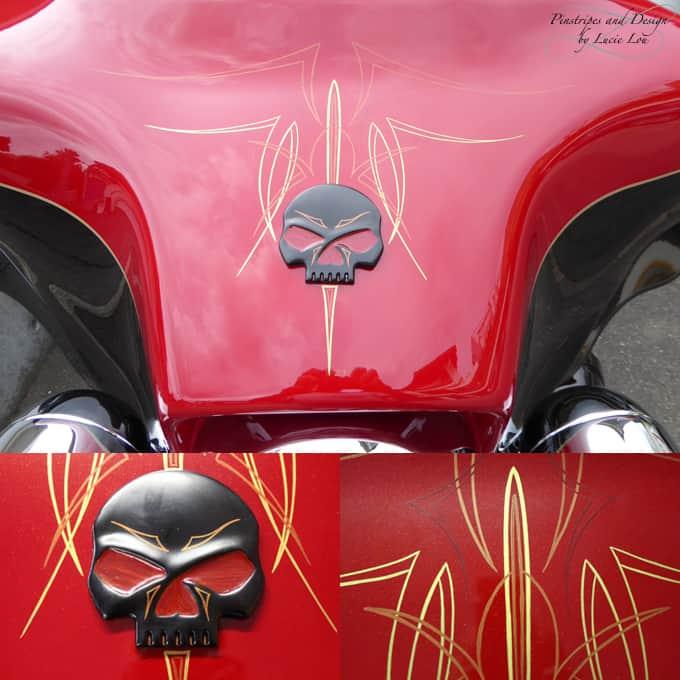 Harley-Davidson Skull Pinstripe