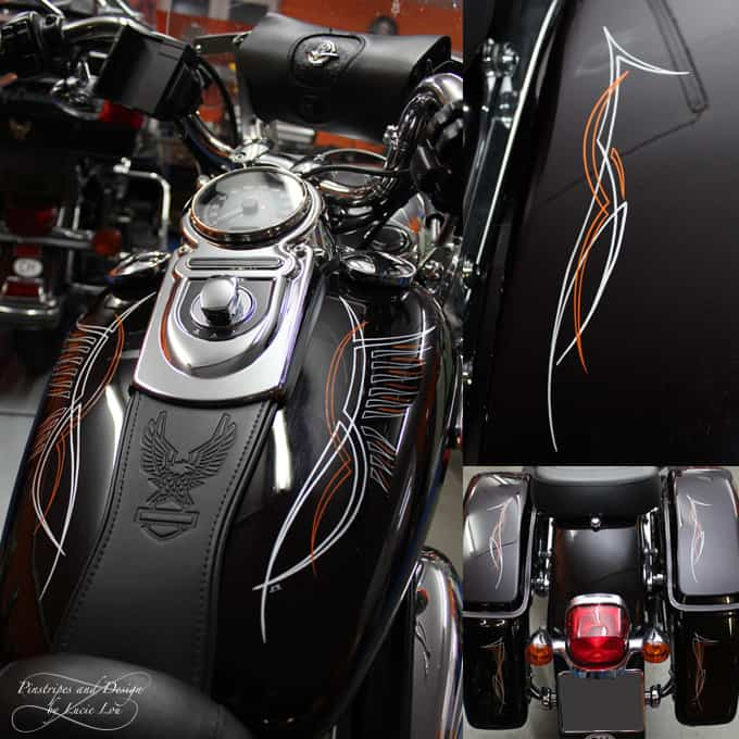 Wings Pinstripe Harley Switchback